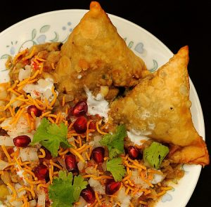 The best samosa chaat in Jersey City