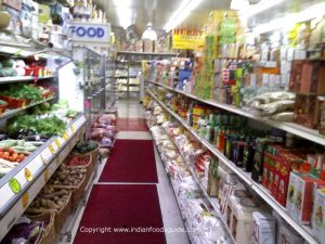 Indian grocery stores in Jersey City