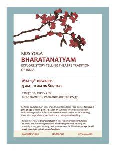 Kids Yoga Bharatanatyam in Jersey City
