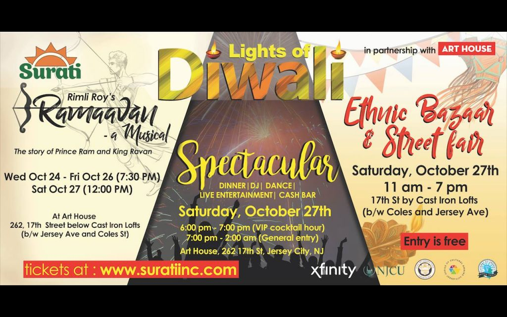 Diwali events in Jersey City