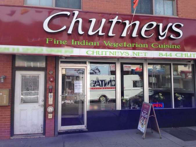 South Indian thali in Jersey City