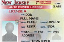 Steps and cheat sheet to New Jersey driving license